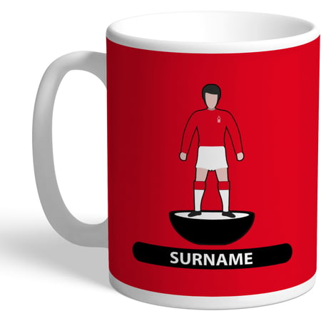 Personalised Nottingham Forest FC Player Figure Mug