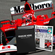 Personalised The Daily F1 Grand Prix News Folder - Male