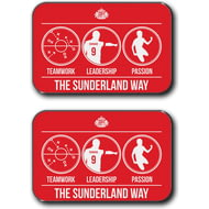 Personalised Sunderland AFC Way Rear Car Mats