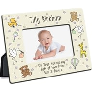 Personalised Nursery Scene Photo Frame
