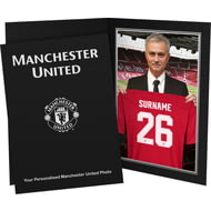 Personalised Manchester United FC 9x6 Manager Photo Folder
