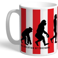 Personalised Sheffield United FC Evolution Mug
