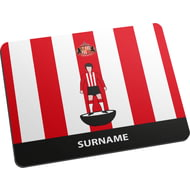 Personalised Sunderland AFC Player Figure Mouse Mat