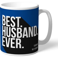 Personalised Chelsea FC Best Husband Ever Mug