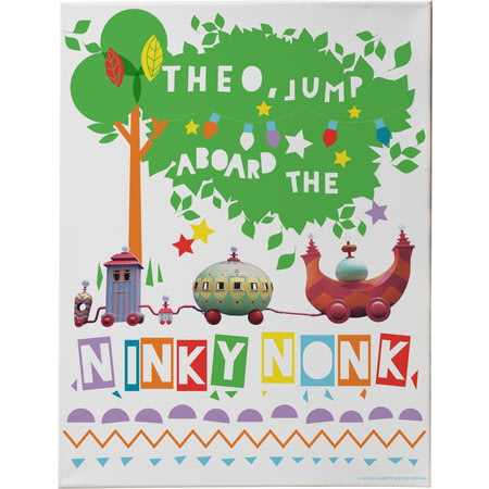 Personalised Ninky Nonk Canvas Print