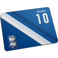 Personalised Birmingham City Stripe Mouse Mat