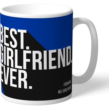 Personalised Brighton & Hove Albion Best Girlfriend Ever Mug