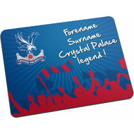 Personalised Crystal Palace FC Legend Mouse Mat