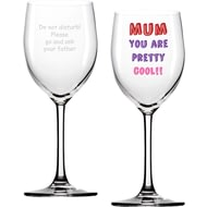 Personalised Mum You Are…Wine Glass