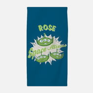 Personalised Toy Story 4 Adult Towel - Alien Squad