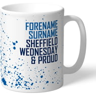 Personalised Sheffield Wednesday FC Proud Mug