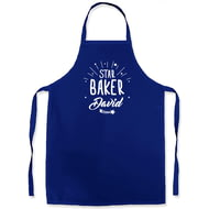 Personalised Star Baker Blue Apron