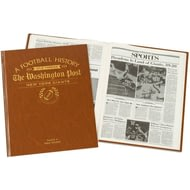 Personalised New York Giants american NFL Football Newspaper Book