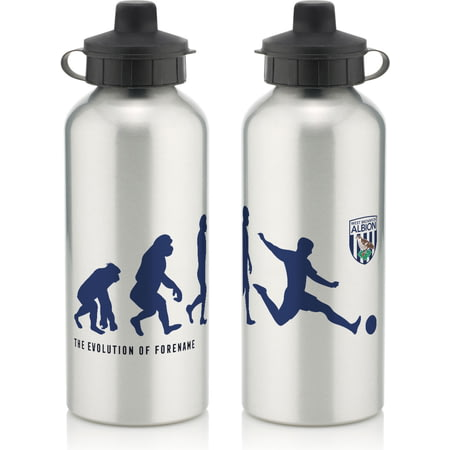 Personalised West Bromwich Albion Evolution Water Bottle
