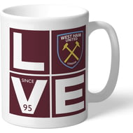 Personalised West Ham United Love Mug