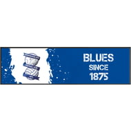 Personalised Birmingham City Paint Splash Large Bar Runner