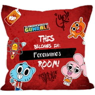 Personalised Gumball Yearbook Cushion