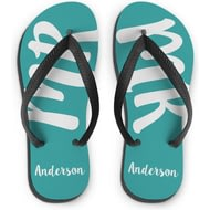Personalised MR Small Flip Flops