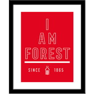 Personalised Nottingham Forest FC I Am Framed Print