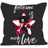 Personalised Steven Universe Made Of Love Cushion