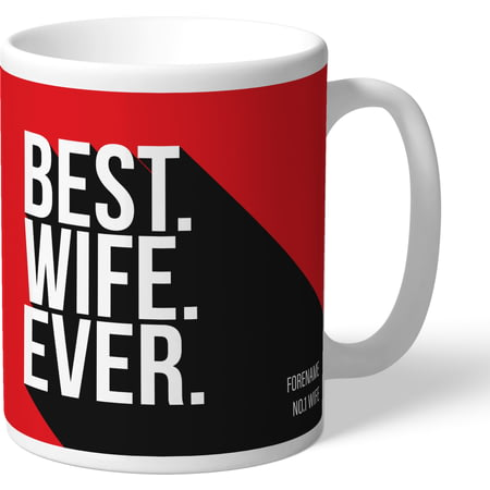 Personalised Sunderland AFC Best Wife Ever Mug