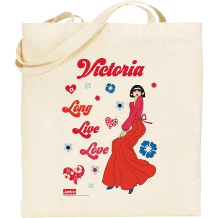 Personalised Riviera Long Live Love Tote Bag