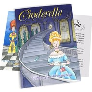 Personalised Cinderella Childrens Story Book