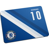 Personalised Chelsea FC Stripe Mouse Mat