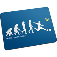 Personalised Leeds United FC Evolution Mouse Mat