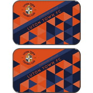 Personalised Luton Town FC Patterned Rear Car Mats