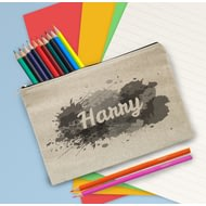 Personalised Splash Pencil Case
