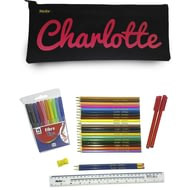 Personalised Printed Pencil Case & Accessories
