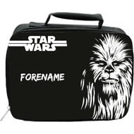 Personalised Star Wars Chewbacca Paint Insulated Lunch Bag - Black