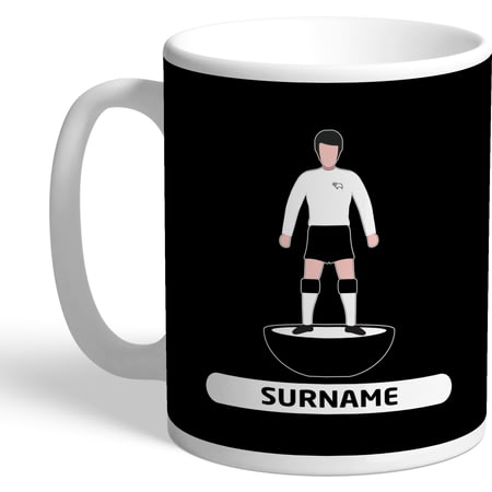Personalised Derby County Player Figure Mug