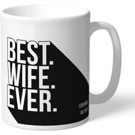 Personalised Newcastle United Best Wife Ever Mug