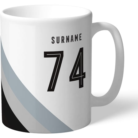 Personalised Newcastle United Stripe Mug