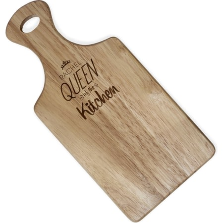 Personalised Queen Of The Kitchen Paddle Board