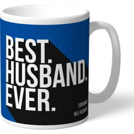 Personalised Reading Best Husband Ever Mug