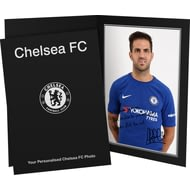 Personalised Chelsea FC Fabregas Autograph Photo Folder