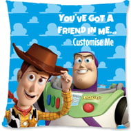 Personalised Toy Story You've Got A Friend In Me Cushion - 45x45cm