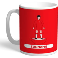 Personalised Liverpool FC Player Figure Mug