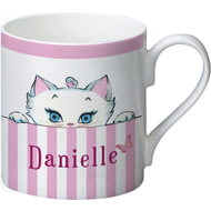 Personalised Peeking Nina Kitten Balmoral Mug