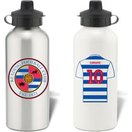 Personalised Reading FC Aluminium Water Bottle