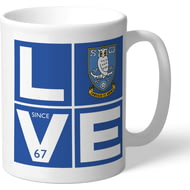 Personalised Sheffield Wednesday Love Mug