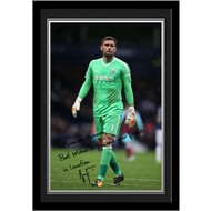 Personalised West Bromwich Albion FC Foster Autograph Photo Framed