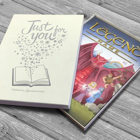 Personalised The Legend Of Your Name Childrens Book