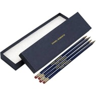 Personalised 12 Blue Pencils In A Blue Box