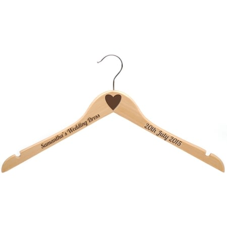 Personalised Adult's Wooden Hanger
