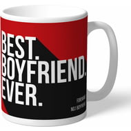 Personalised AFC Bournemouth Best Boyfriend Ever Mug