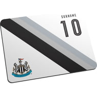 Personalised Newcastle United FC Stripe Mouse Mat